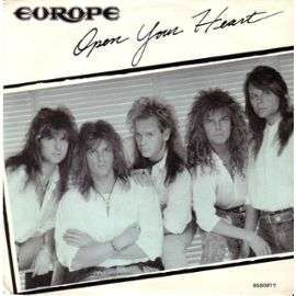 Europe Open Your Heart - Just The Beginning