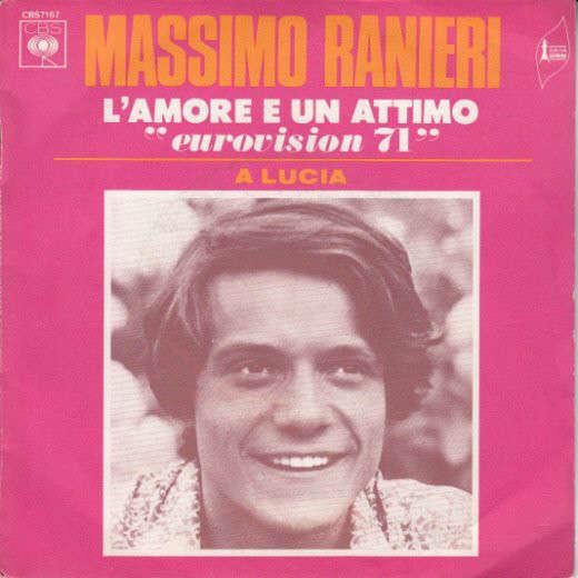 Massimo Ranieri L'Amore È Un Attimo /A Lucia