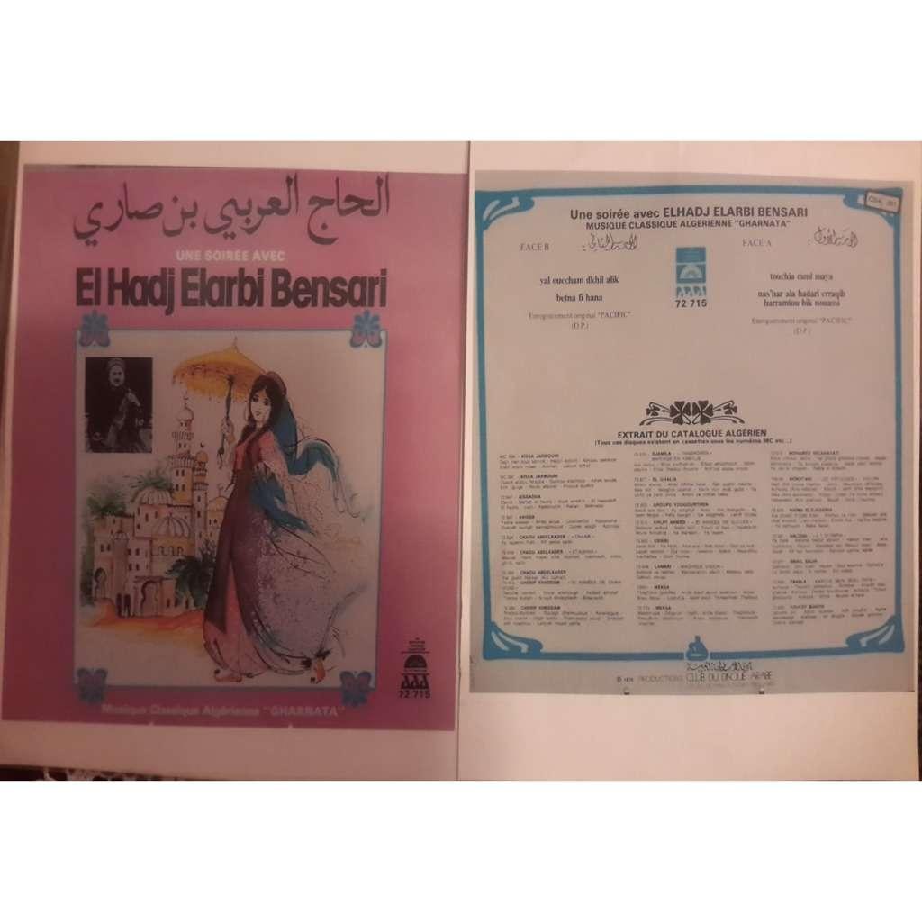El hadj elarbi bensari Musique algérienne (Gharnara)