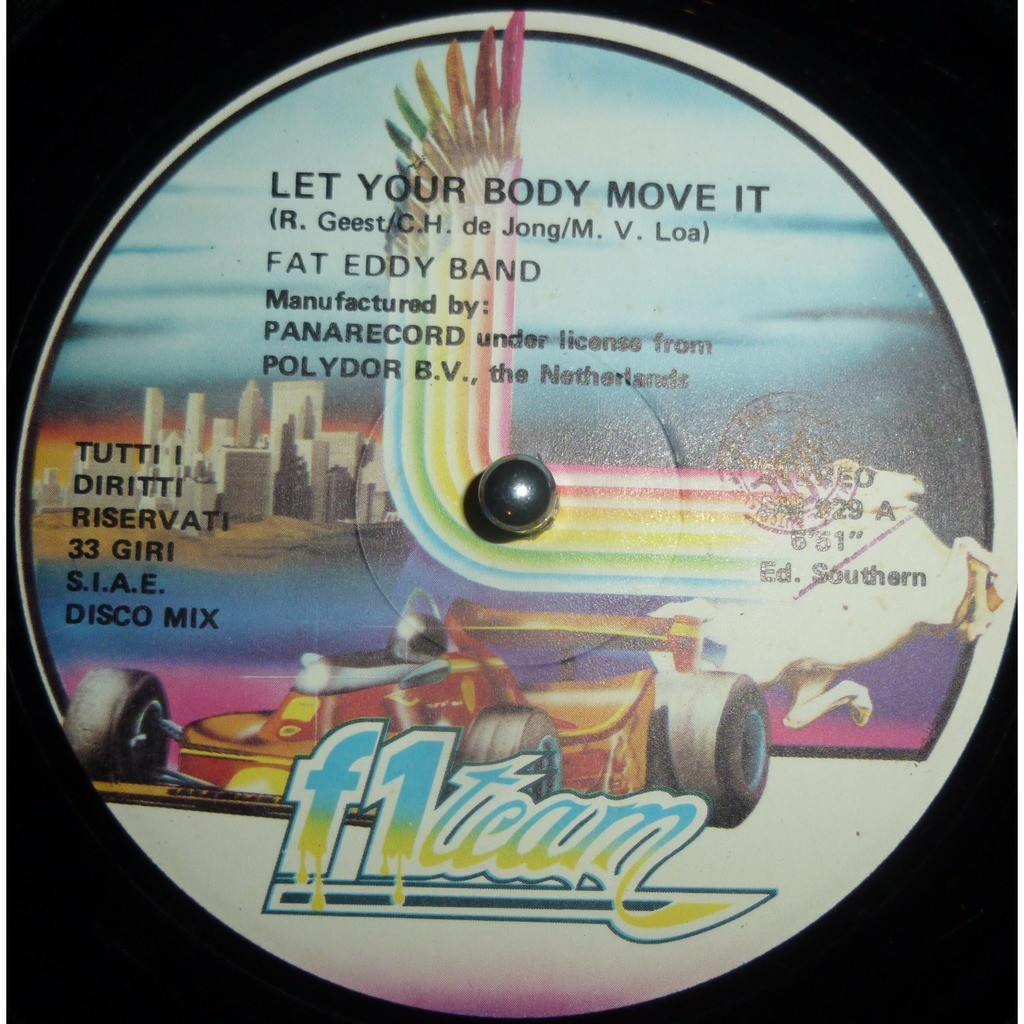 Fat Eddy Band Let Your Body Move It