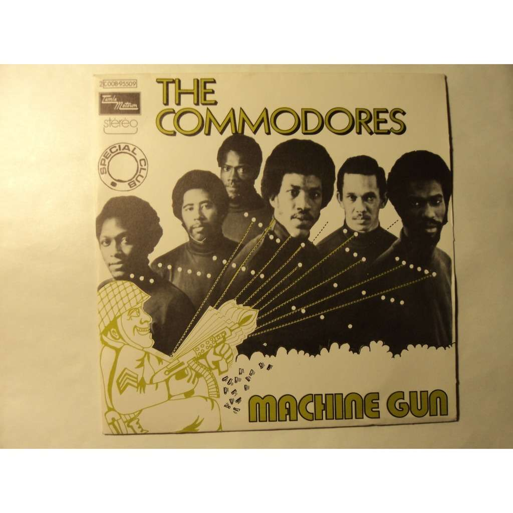 COMMODORES MACHINE GUN / there's a song in my heart ( france )