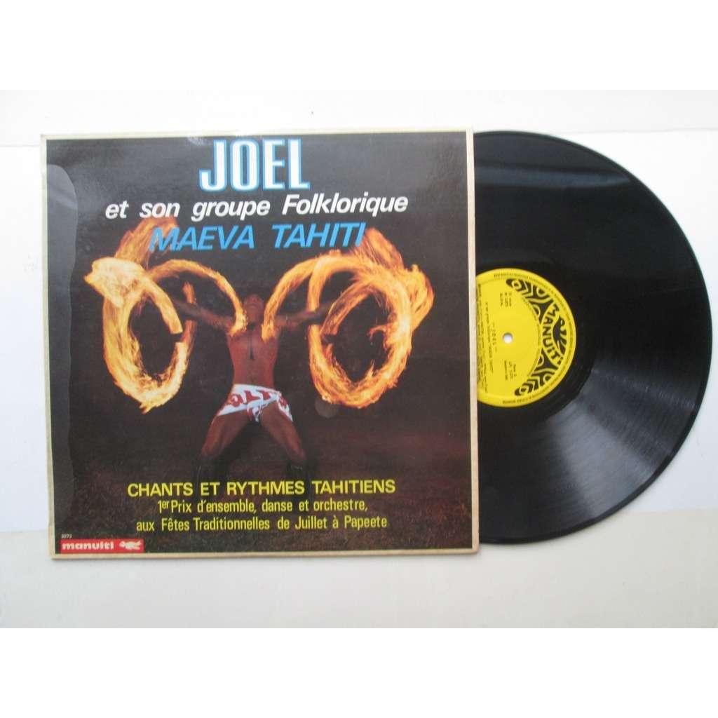 joël et son groupe folklorique maeva tahiti chants et rythmes tahitiens