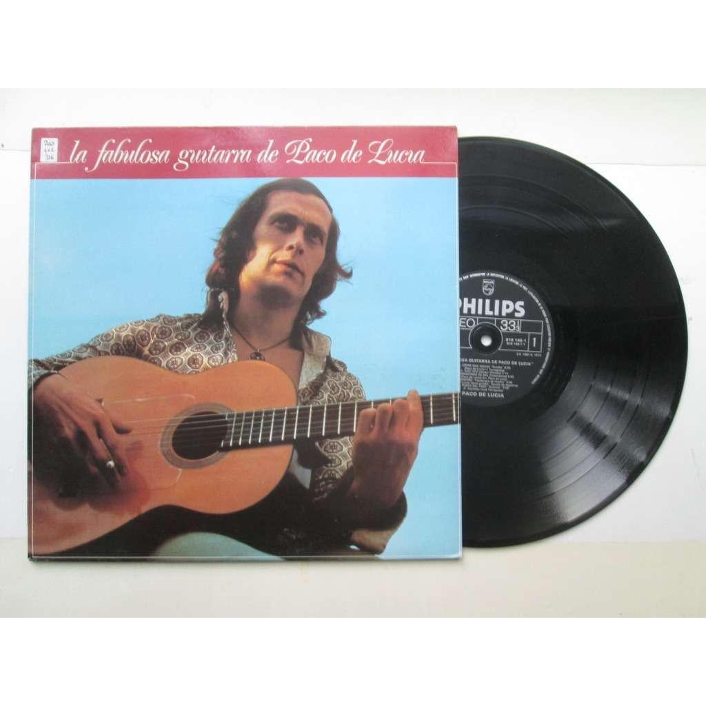 DE LUCIA Paco La fabulosa guitarra de Paco De lucia