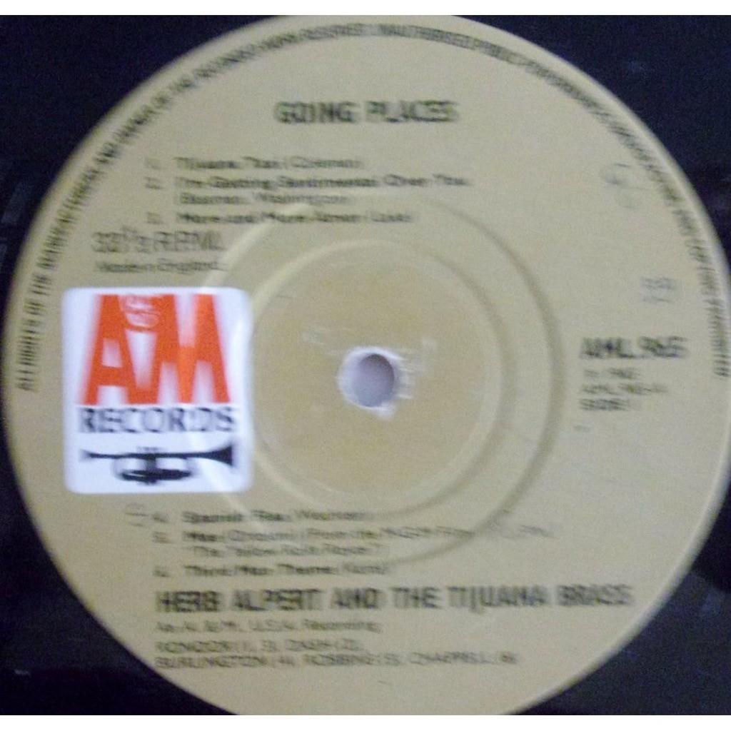Herb Alpert - Tijuana Brass !!Going Places!!!