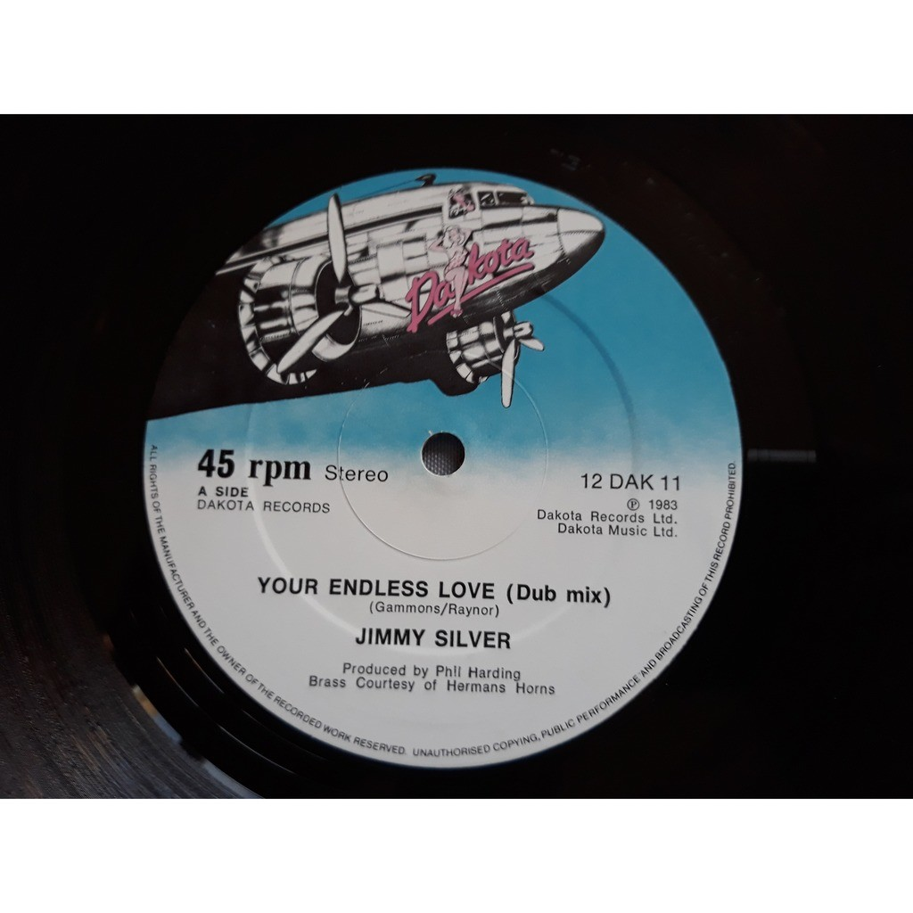 Jimmy Silver - Your Endless Love (12) 1983 Jimmy Silver - Your Endless Love (12) 1983