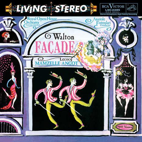 Walton/Facade - LeCocq/Mamzelle Angot Anatole Fistoulari : Royal Opera House Orchestra - 200g LP