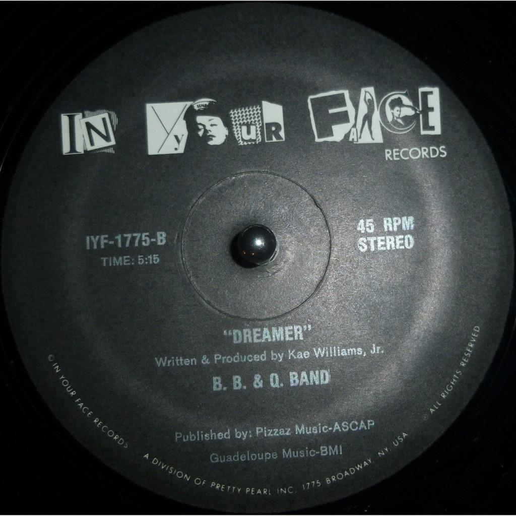 B. B. & Q. Band On The Shelf / Dreamer