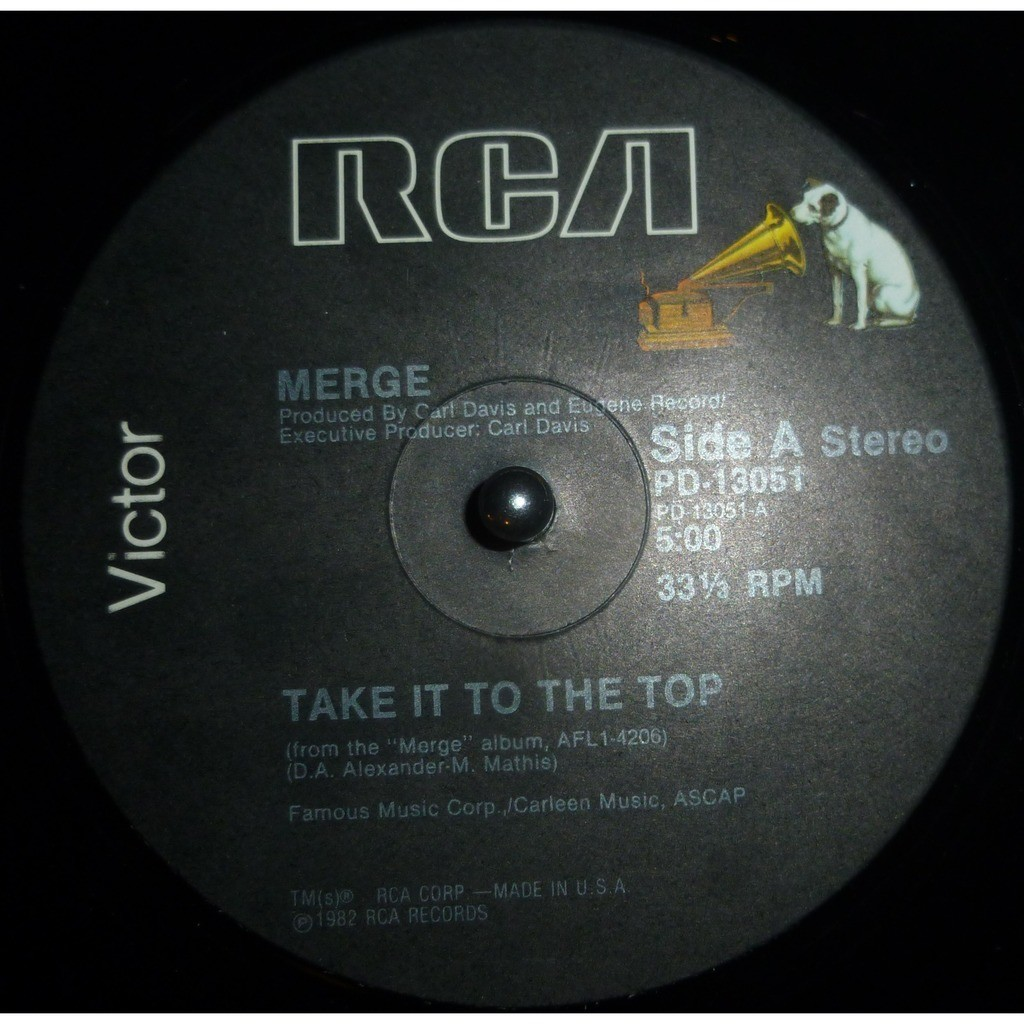 merge Take It To The Top / Volcanic Voodoo