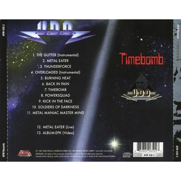 U.D.O. Timebomb (Anniversary edition,incl. 2 bonuses)