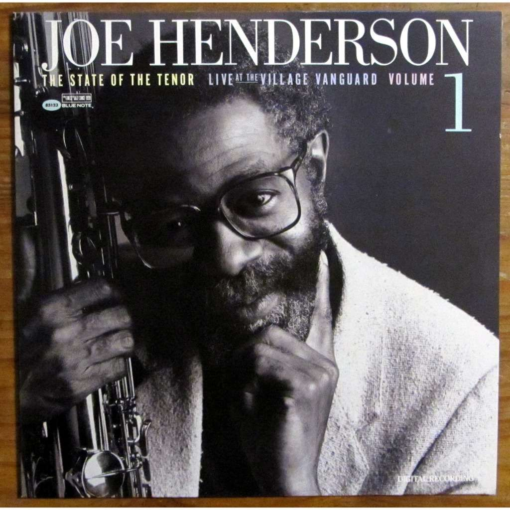 Joe Henderson State Of The Tenor: Live At The Village Vanguard 1