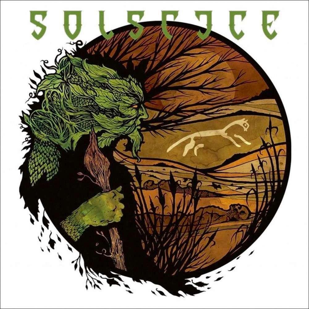 SOLSTICE White Horse Hill. Black Vinyl