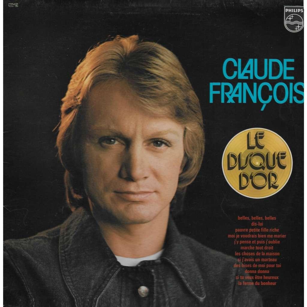 Claude FRANÇOIS Le Disque d'Or