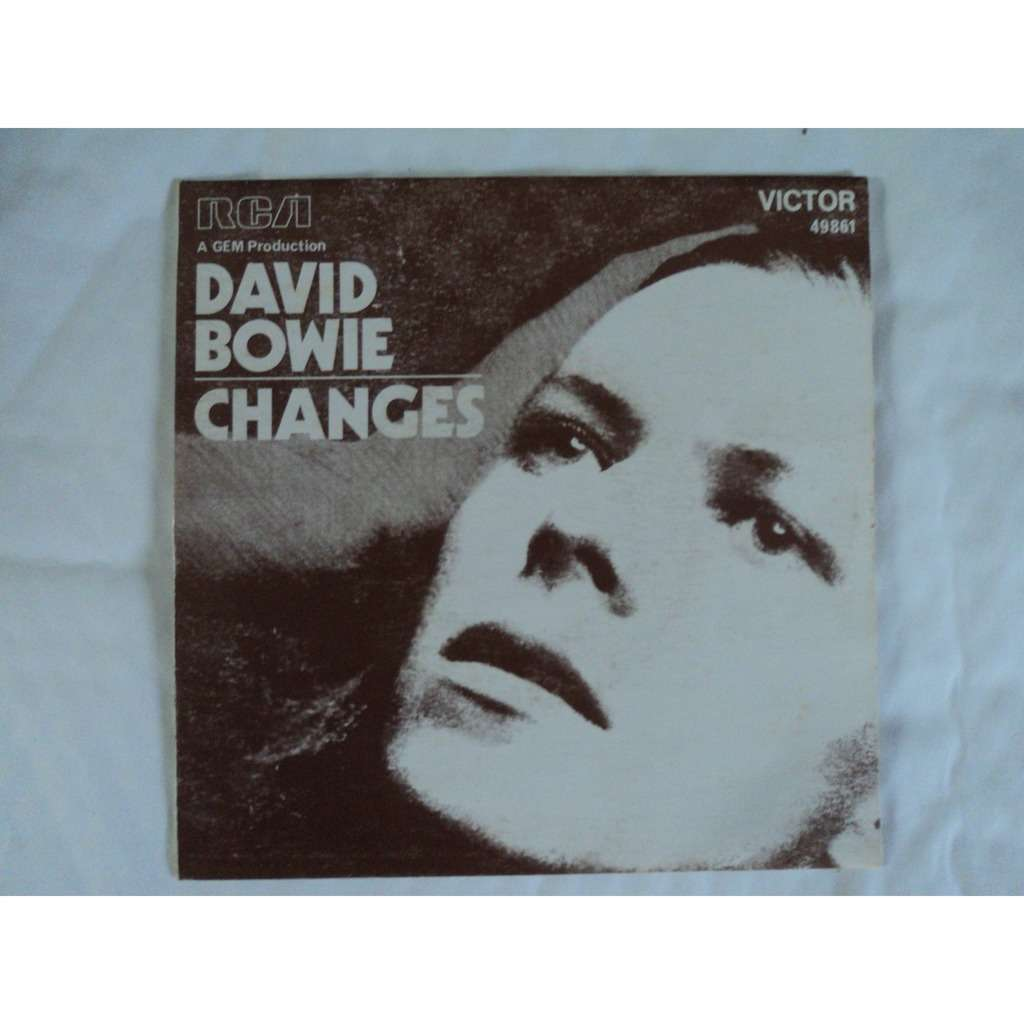 DAVID BOWIE CHANGES / ANDY WARHOL