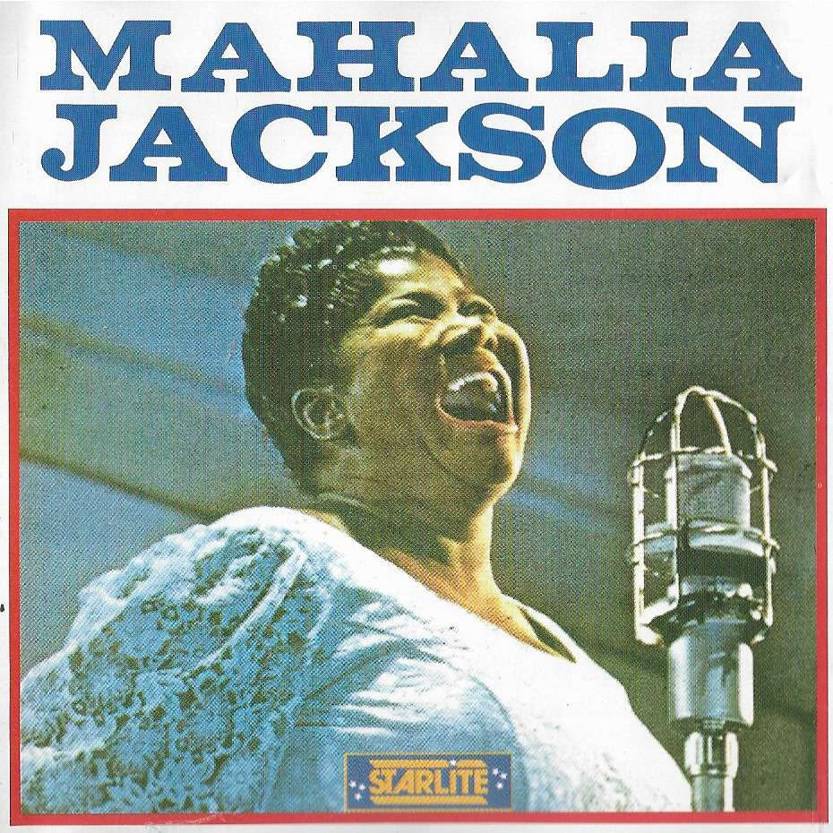 MAHALIA JACKSON IN THE UPPER ROOM