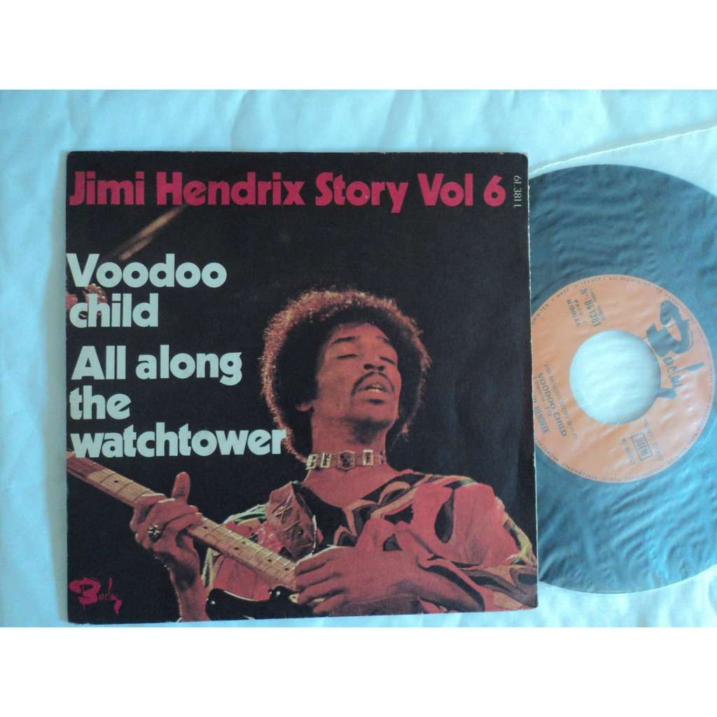 jimi hendrix story vol.6 voodoo child / all along the watchtower