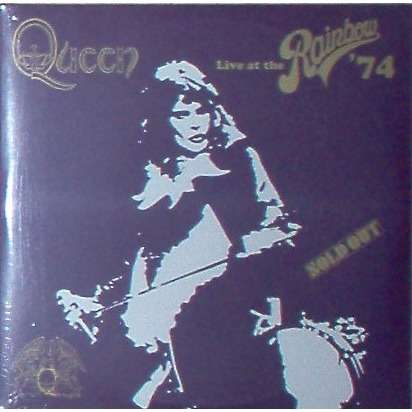 The Queen Live At The Rainbow '74 (Italian 2018 'Queen The Vinyl Collection' Ltd 22-trk 2LP gf ps+ booklet!!)