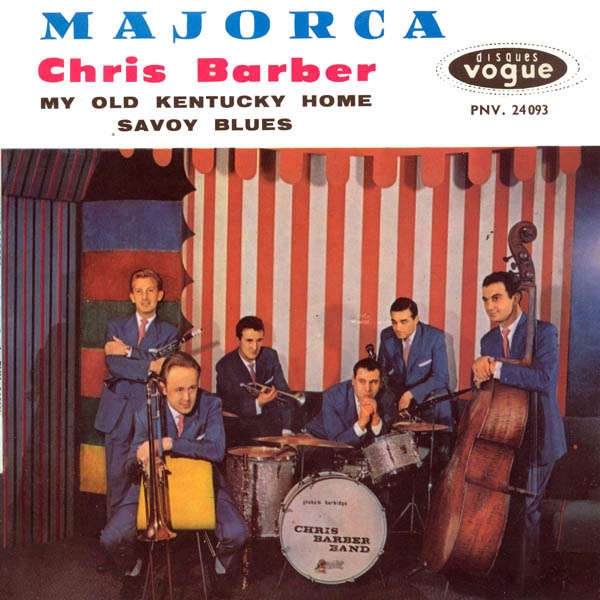 chris barber's jazz band Majorca
