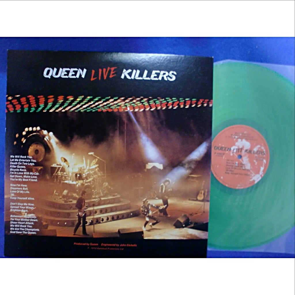 queen live killers (2 color discs)