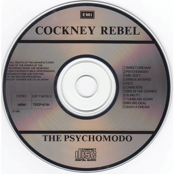 Cockney Rebel The Psychomodo
