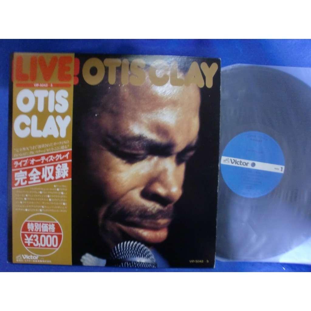 otis clay live! -live in japan