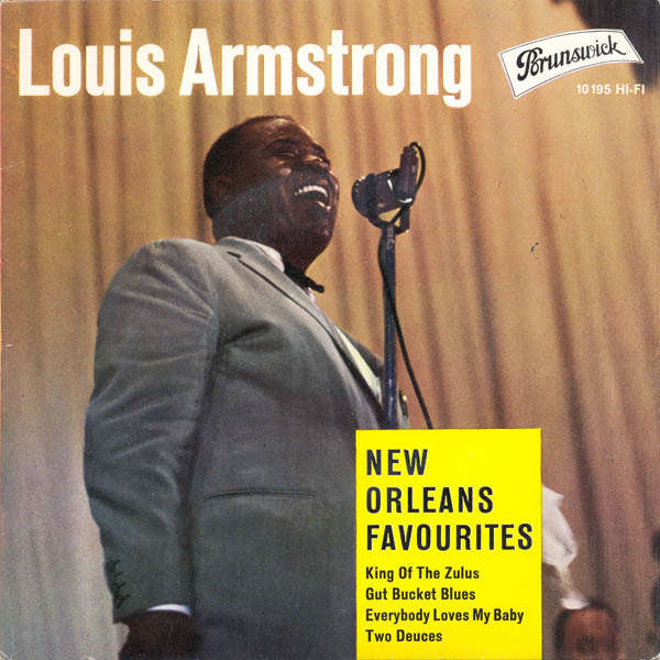 louis armstrong and his all-stars New Orleans favourites