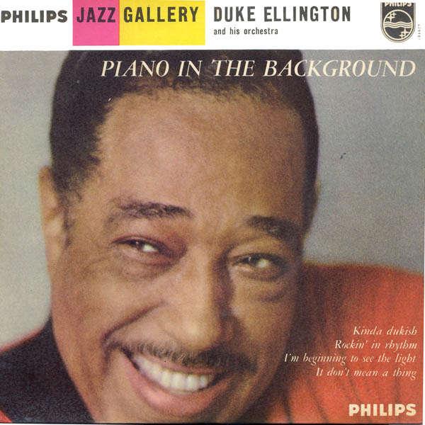 duke ellington piano in the background