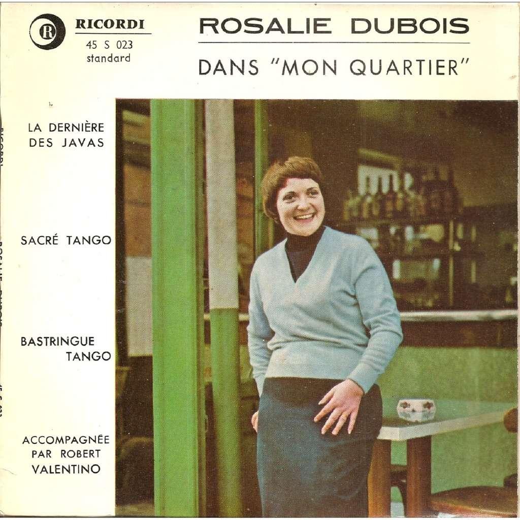 Rosalie DUBOIS Dans mon quartier