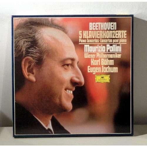 MAURIZIO POLLINI & KARL BOHM & EUGEN JOCHUM BEETHOVEN 5 Klavierkonzerte