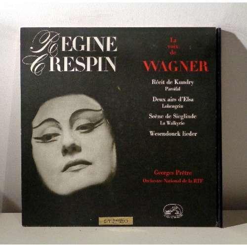 REGINE CRESPIN & GEORGES PRETRE WAGNER Opera highlights & Wesendonck lieder