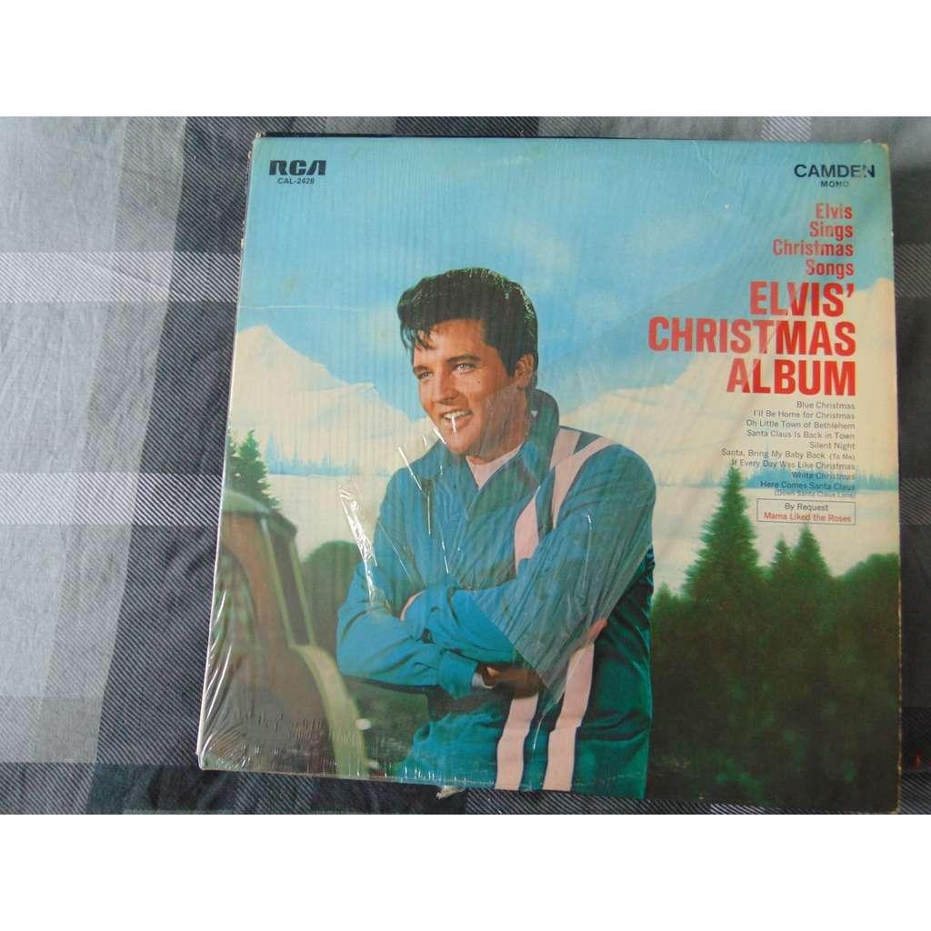 Elvis Christmas Album.Elvis Presley Elvis Christmas Album