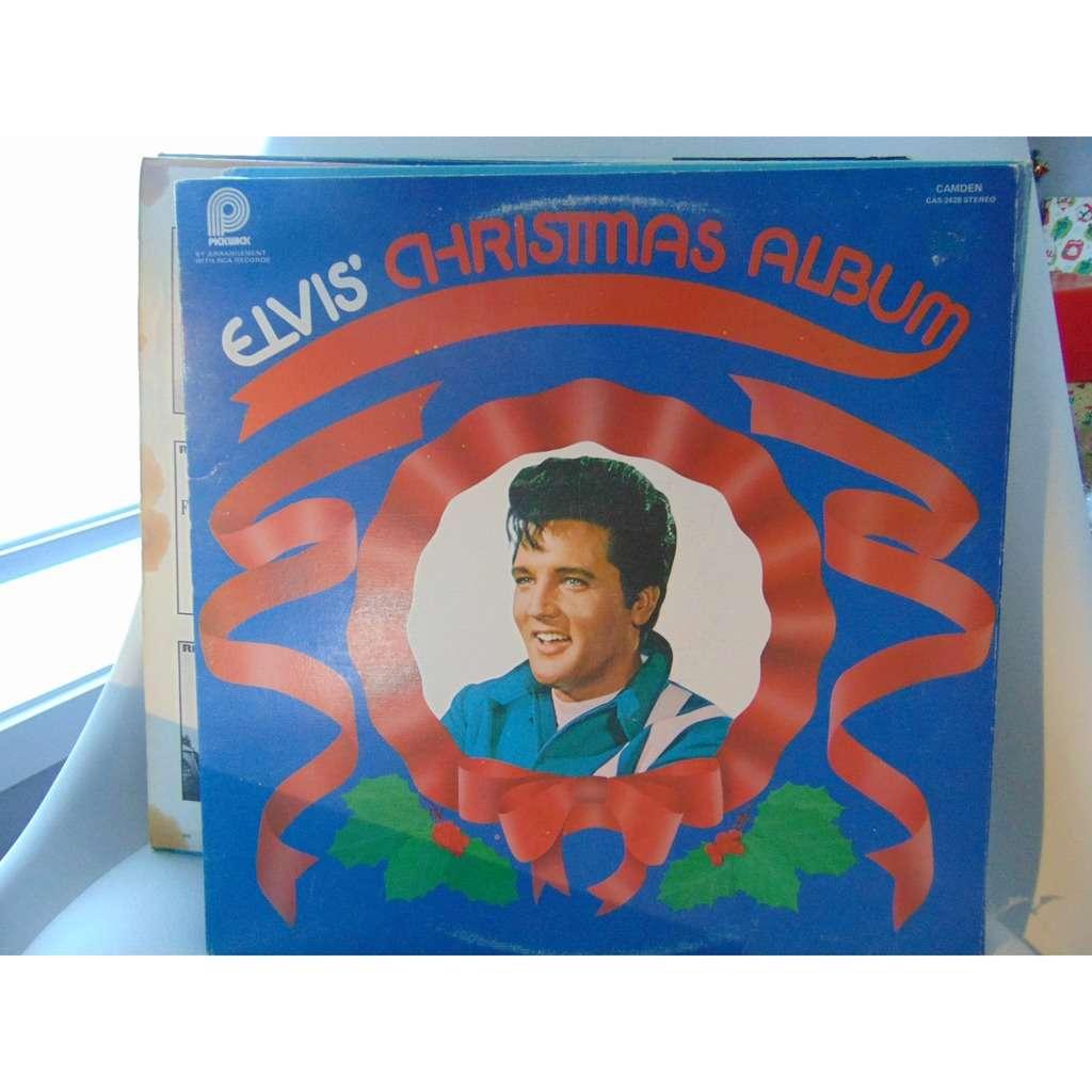Elvis Christmas Album Vinyl.Elvis Presley Elvis Christmas Album