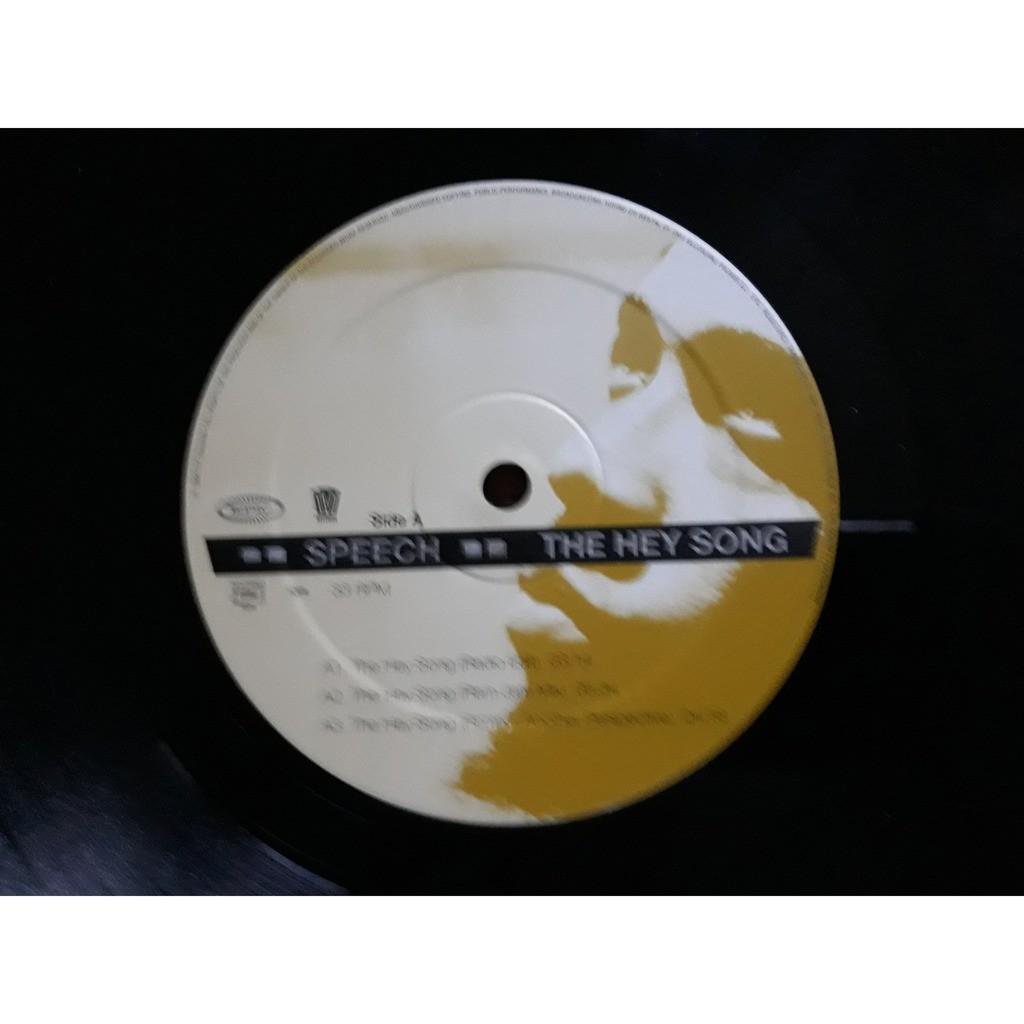 Speech - The Hey Song (12, Maxi) Speech - The Hey Song (12, Maxi)