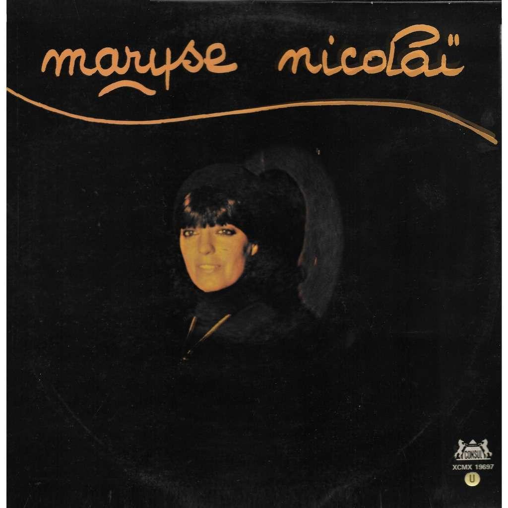 Maryse NICOLAÏ Chante