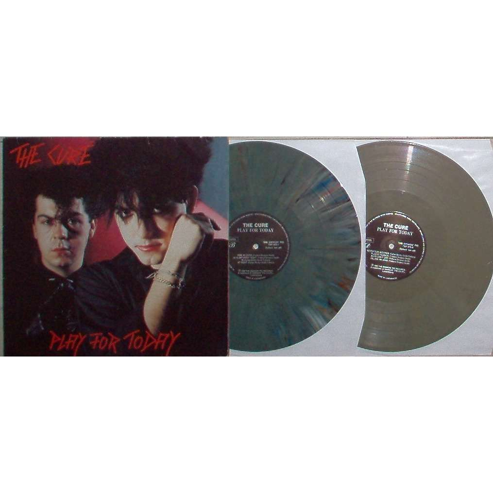 The Cure Play For Today (Arnheim Holland 24.05.1980) (swingng Pig lbl 1990 original 2LP marbled wax)