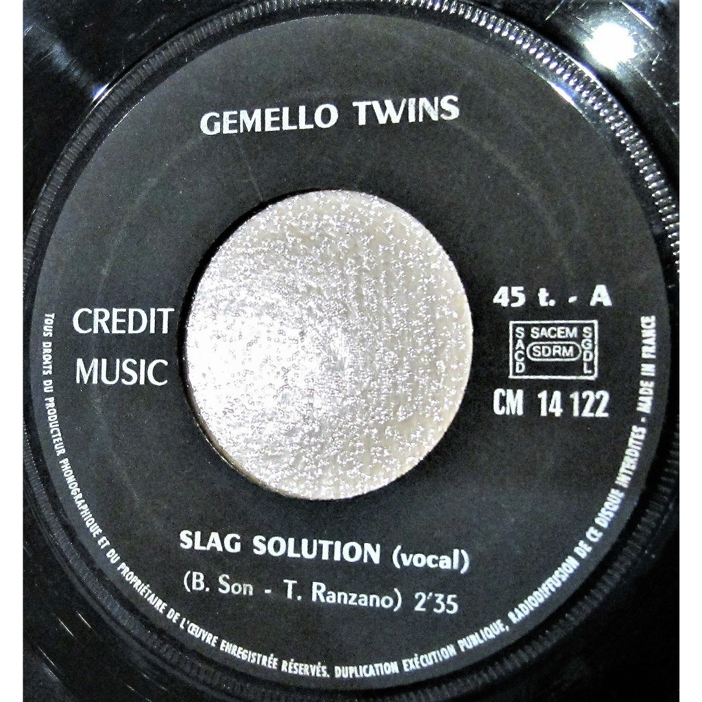 Gemello Twins Slag solution (vocal) + instrumental