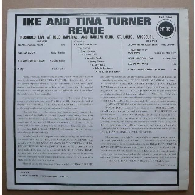 Ike & Tina Turner Revue Live