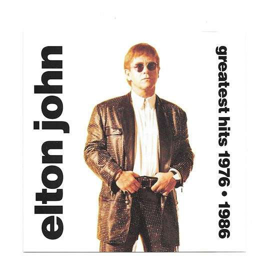 Elton John Greatest Hits 1976-1986