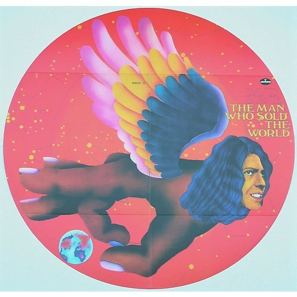David Bowie The Man Who Sold The World (lp) Ltd Edit German Round Cover & Colored Vinyl -Ger