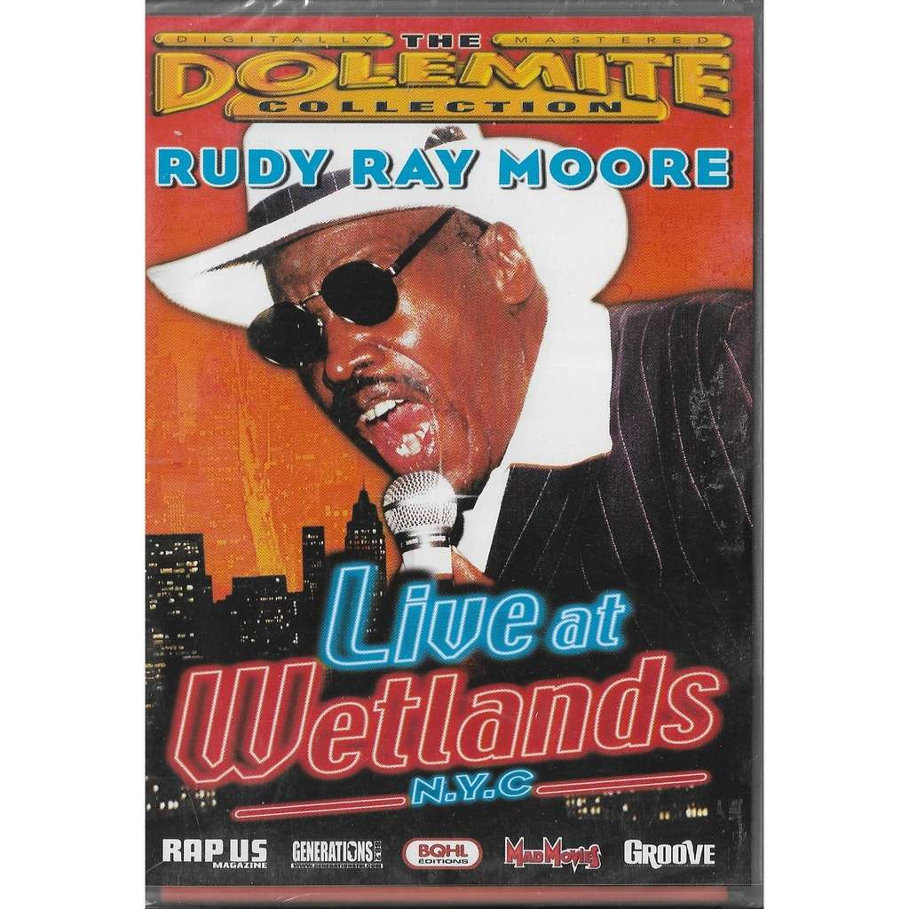Rudy Ray Moore Live At Wetlands N.Y.C