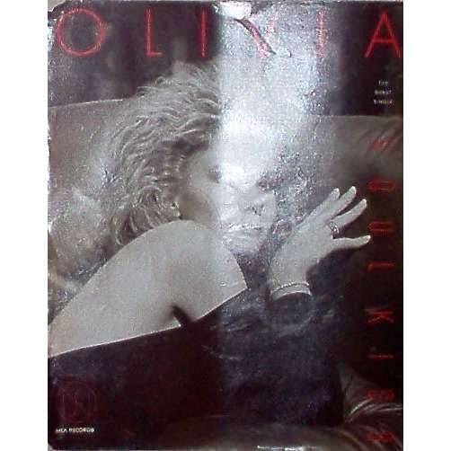 Olivia Newton-John Soul Kiss (USA 1985 'MCA' promo type advert 'single release' poster!)