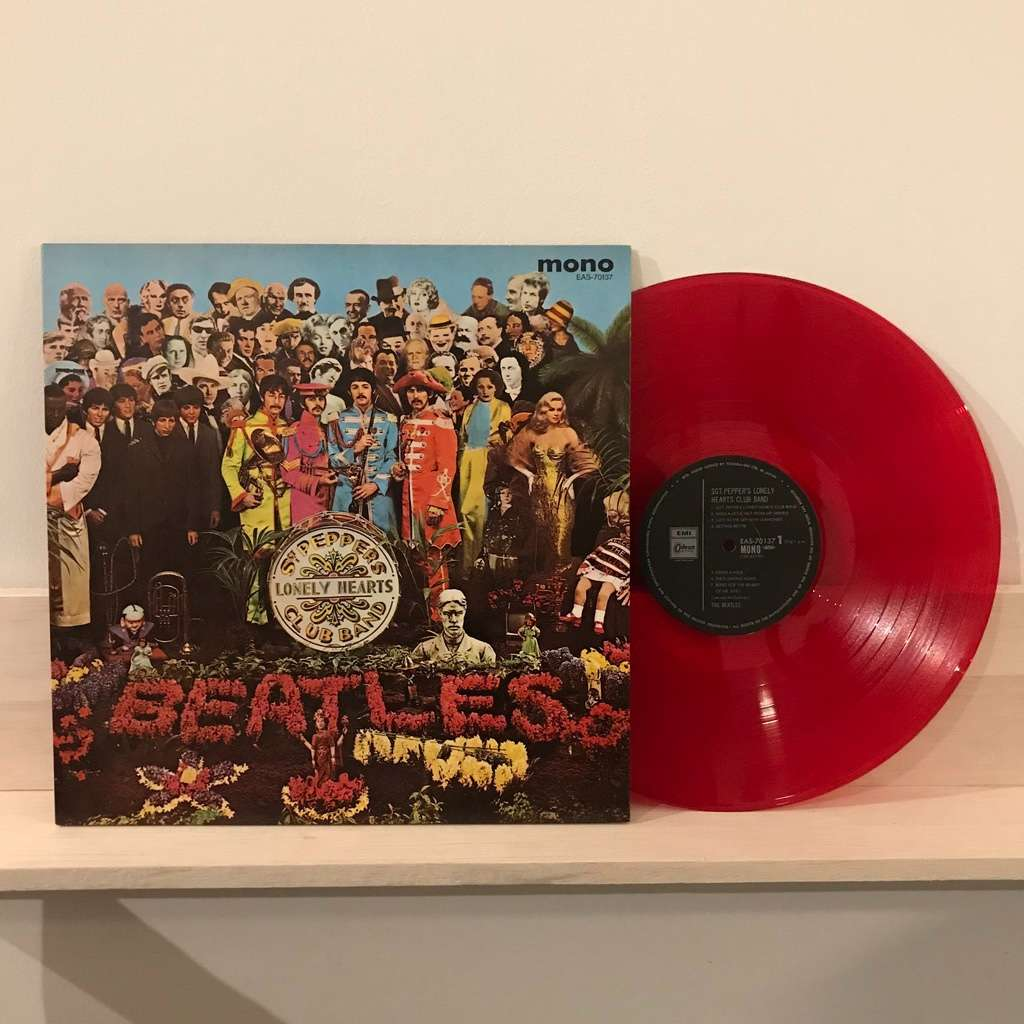the Beatles sgt. pepper's lonely hearts club band (eas-70137,mono,1982,japan limited edition,redwax)