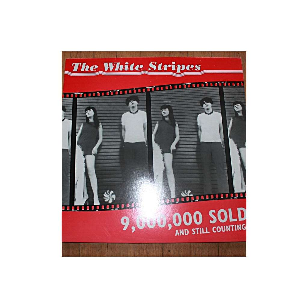 the white stripes 9,000,000 sold and still counting