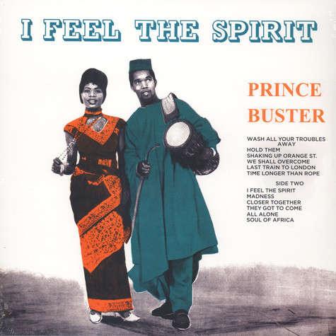 Prince Buster I Feel The Spirit (lp)