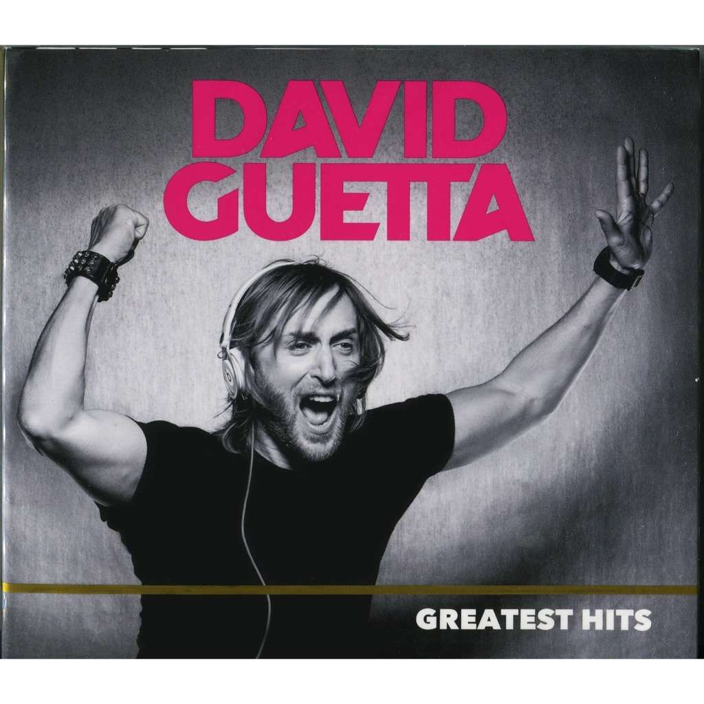 David Guetta Greatest Hits (2018) 2CD Digipak - New and Factory Sealed