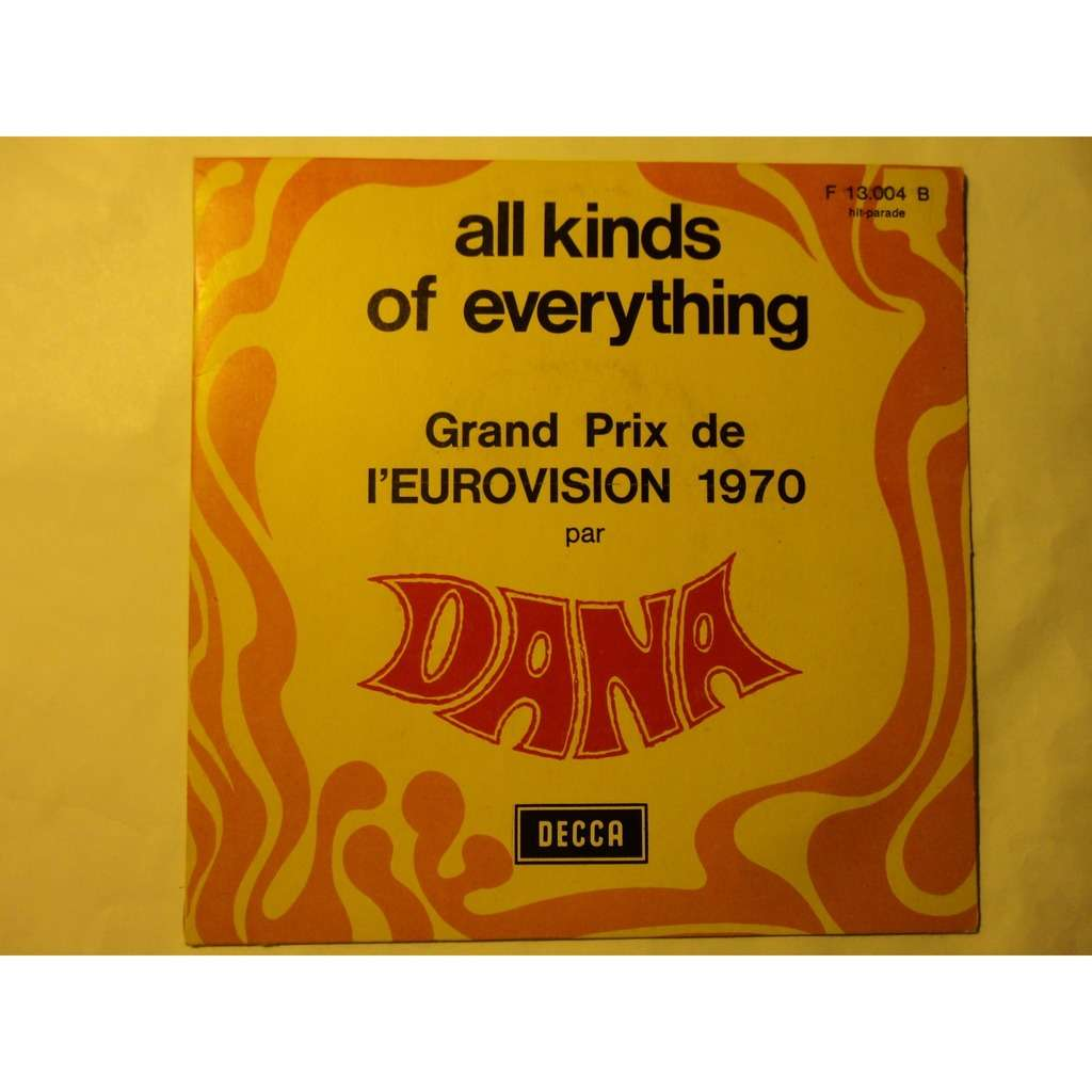 DANA ALL KINDS OF EVERYTHING ( grand prix eurovision 1970 ) / channel breeze