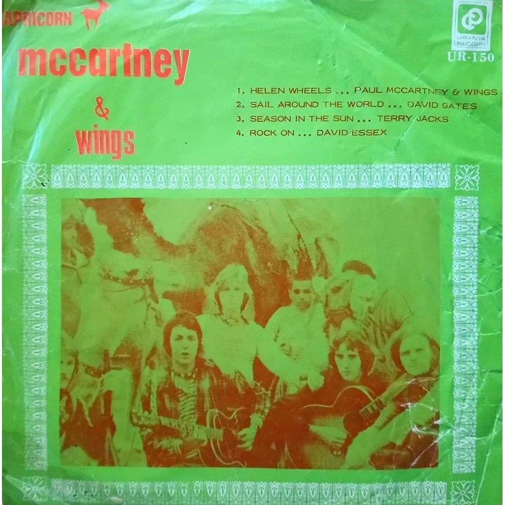 Beatles / Paul McCartney / Wings Helen Wheels (Malaysia 1973 original 7ep sampler on Uranya lbl absolutely unique ps)