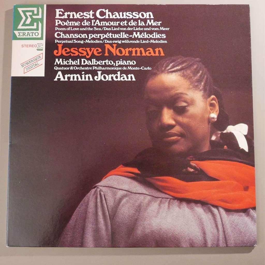 Jessye Norman Michel Dalberto Armin Jordan Ernest Chausson Poème De Lamour Et De La Mer Chanson Perpétuelle Mélodies
