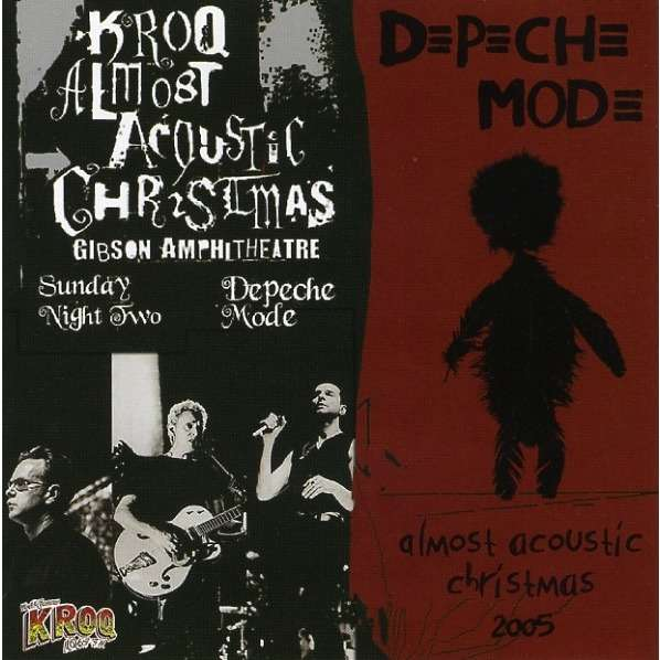 DEPECHE MODE KROQ Almost Acoustic Christmas Live USA 2005 Bonus Interview Touring The Angel Tour CD