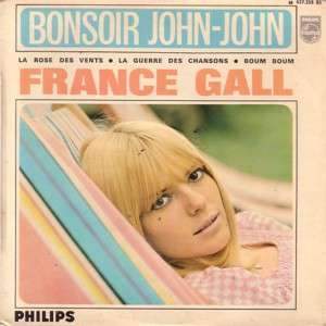 France GALL 11e série : Bonsoir John-John