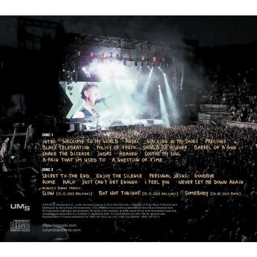 DEPECHE MODE Les Arenes De Nimes Live In France 2013 Delta Machine Tour 2CD